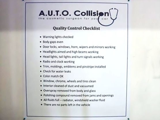A.U.T.O. Collision 215 West 9210 South  Sandy, UT 84070 Collision Repair Specialists.  Quality Control is Closely Monitored Through Out The Collision Repair Process Of Your Vehicle.