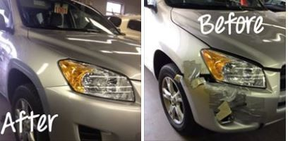 At Central Auto Body Rebuilders Inc., we are proud to post before and after collision repair photos for our guests to view.
