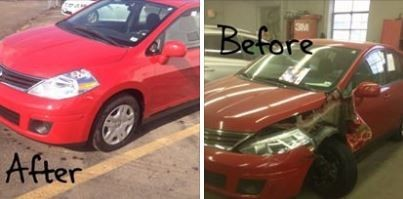 At Central Auto Body Rebuilders Inc., we take pride in our collision repair and proudly display our work.