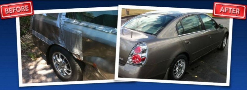 At Tanner's Paint & Body - Springfield, we are proud to post before and after collision repair photos for our guests to view.
