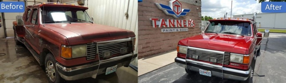Check out our before and after collision repair photos and see the quality work done at Tanner's Paint & Body - Springfield!