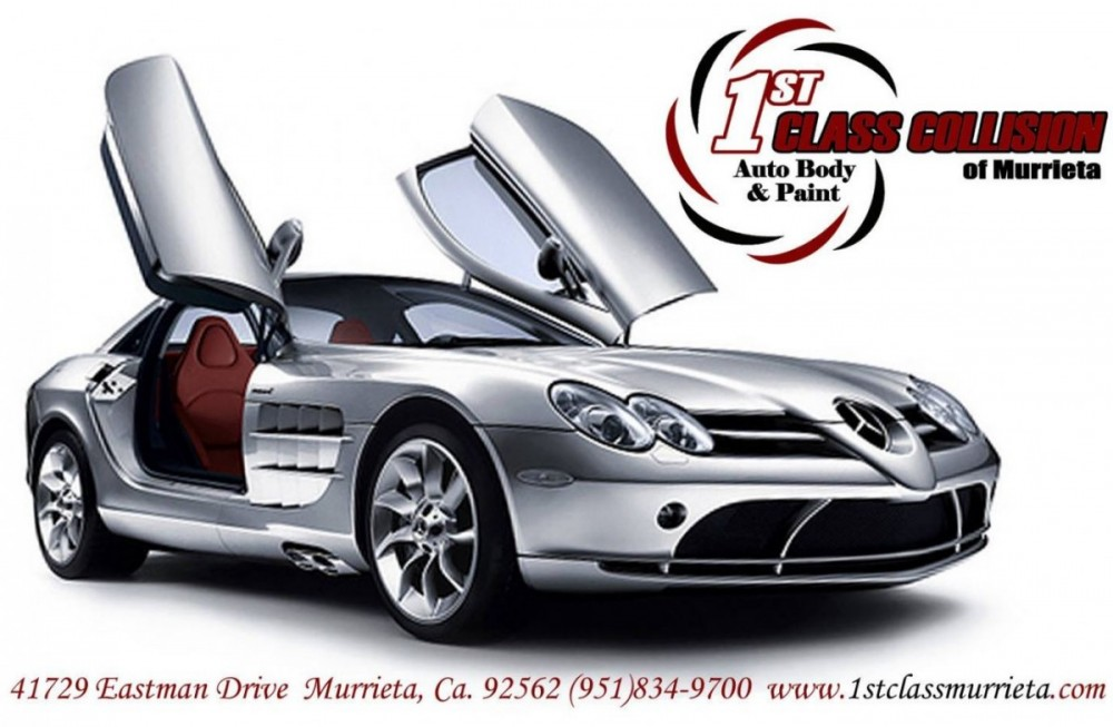 At 1st Class Collision Of Murrieta, you will easily find us located at Murrieta, CA, 92564. Rain or shine, we are here to serve YOU!