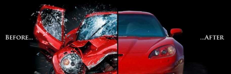 At Campbell's Bodyshop & Wrecker Service, we are proud to post before and after collision repair photos for our guests to view.