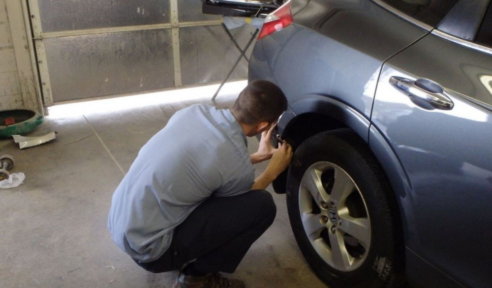 Collision structure and frame repairs are critical for a safe and high quality repair.  Here at Campbell's Bodyshop & Wrecker Service, in Spartanburg, SC, 29302, our structure and frame technicians are I-CAR certified and have many years of experience.