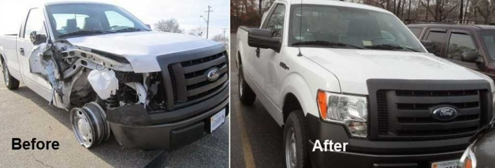 If you are in need of repairs on your vehicle, Priority Collision Center Norfolk can bring it back to pre-accident condition. Take a look at our before and after photos, and you will see how exceptional we repair our customers' vehicles.
