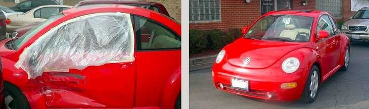 At Hawken CARSTAR Collision Repair Center, we are proud to post before and after collision repair photos for our guests to view.