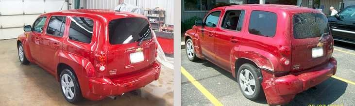 If you are in need of repairs on your vehicle, Hawken CARSTAR Collision Repair Center can bring it back to pre-accident condition. Take a look at our before and after photos, and you will see how exceptional we repair our customers' vehicles.