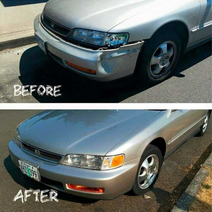 If you are in need of repairs on your vehicle, St. Helens Auto Body can bring it back to pre-accident condition. Take a look at our before and after photos, and you will see how exceptional we repair our customers' vehicles.