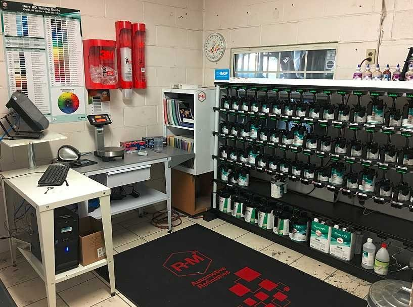 A professional mixing room is critical for matching the colors of today's vehicles. Here at Auto Werks Body & Paint Fix Auto Downtown El Monte, El Monte, CA, 91732, we have everything it takes to get perfect color matches.