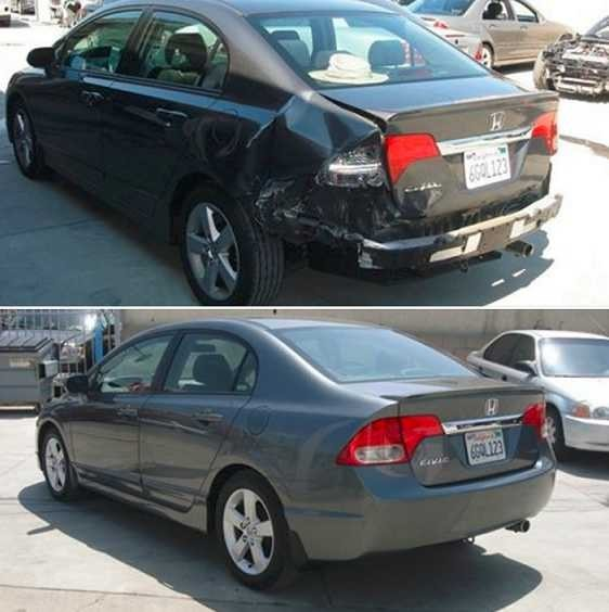 If you are in need of repairs on your vehicle, Auto Werks Body & Paint Fix Auto Downtown El Monte can bring it back to pre-accident condition. Take a look at our before and after photos, and you will see how exceptional we repair our customers' vehicles.