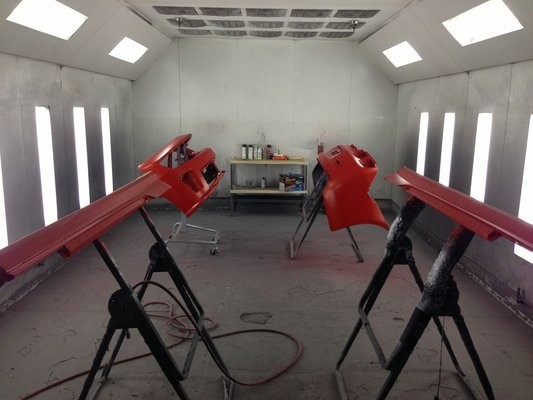 Auto Tech Collision Center 1116 W. Washington Blvd  Los Angeles, CA 90015-3316  STATE OF THE ART REFINISHING IS DONE WITH STATE OF THE ART EQUIPMENT..