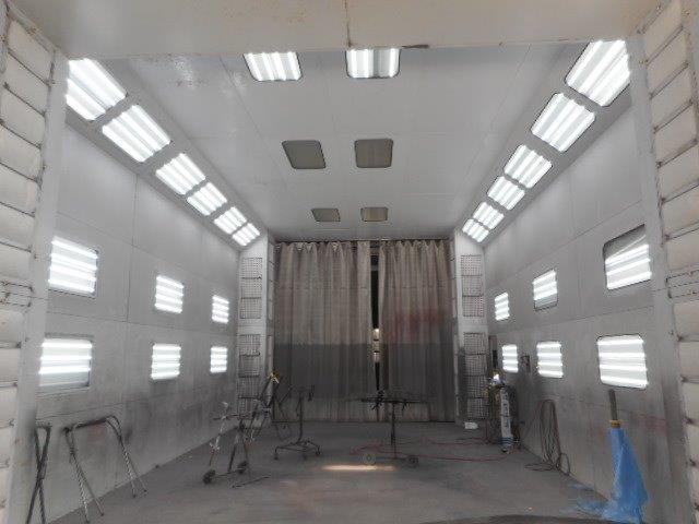 A professional refinished collision repair requires a professional spray booth like what we have here at Olender's Of Enfield Region Inc. in East Windsor, CT, 06088.