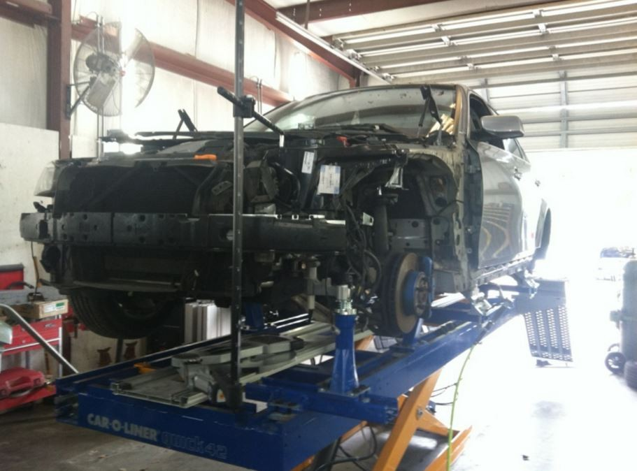 Collision structure and frame repairs are critical for a safe and high quality repair.  Here at Advanced Autobody II, Inc., in Hardeeville, SC, 29927, our structure and frame technicians are I-CAR certified and have many years of experience.