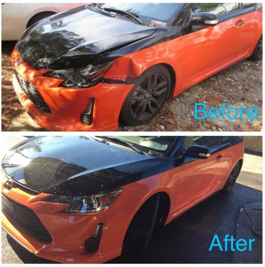 At Advanced Autobody II, Inc., we deal with repairs ranging from collision damage to dent repair. We get them corrected, and have cars looking like new when they leave our shop!