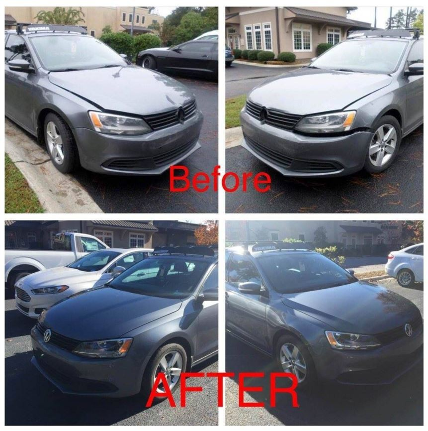 At Advanced Autobody II, Inc., we are proud to post before and after collision repair photos for our guests to view.