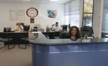 Our body shop's business office located at Camarillo, CA, 93012 is staffed with friendly and experienced personnel.