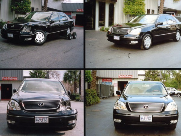 U.S. Auto Connection - we are proud to post before and after collision repair photos for our guests to view.