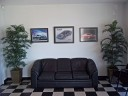 The waiting area at our body shop, located at Torrance, CA, 90505 is a comfortable and inviting place for our guests.