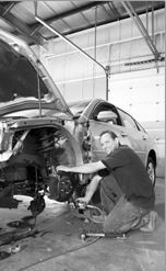 Here at Fix Auto Crystal Lake, Crystal Lake, IL, 60014, our body technicians are craftsmen in the art of metal straightening.