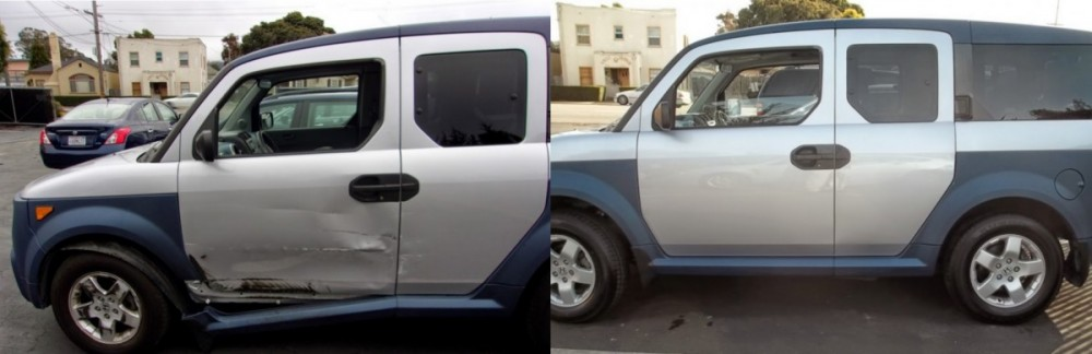 At Fix Auto Monterey, we are proud to post before and after collision repair photos for our guests to view.