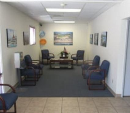 J & M Auto Body  San Diego, CA, 92126, we have a welcoming waiting room.