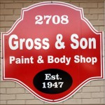 We are Gross & Son Paint & Body Shop, Inc.! With our specialty trained technicians, we will bring your car back to its pre-accident condition!