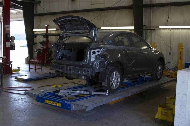 Structural accuracy is critical for a safe and high quality collision repair.  At Snow Hill Auto Body, Snow Hill, MD, 21863, we are the best.
