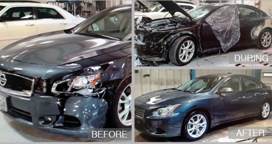 At Cambridge Auto Body, we are proud to post before and after collision repair photos for our guests to view.