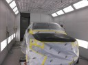 A professional refinished collision repair requires a professional spray booth like what we have here at Doherty Ford Collision Repair Center in Forest Grove, OR, 97116.