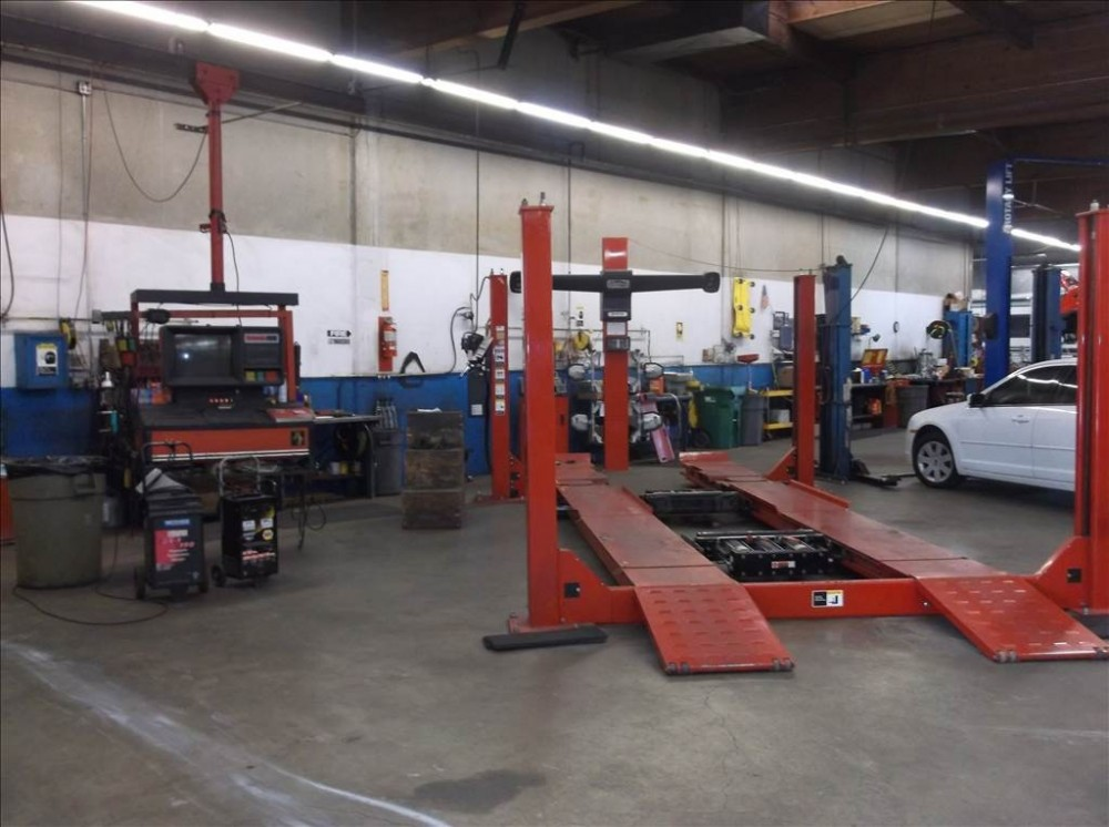 Accurate alignments are the conclusion to a safe and high quality repair done at Doherty Ford Collision Repair Center, Forest Grove, OR, 97116