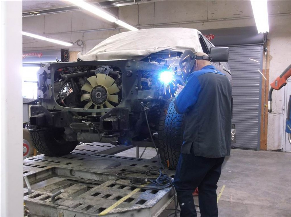 All of our body technicians at Doherty Ford Collision Repair Center, Forest Grove, OR, 97116, are skilled and certified welders.