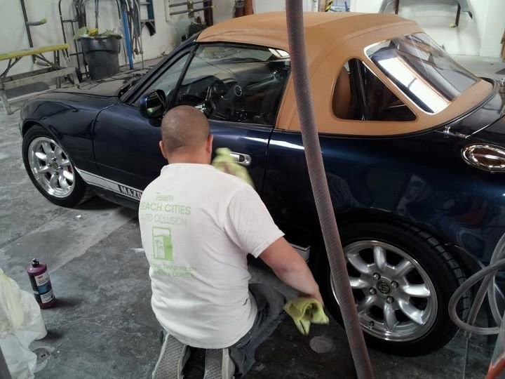 Beach Cities Auto Collision -At Beach Cities Auto Collision, we color sand and polish all repaired exterior panels, giving them professional results that mirrors OEM finishes.