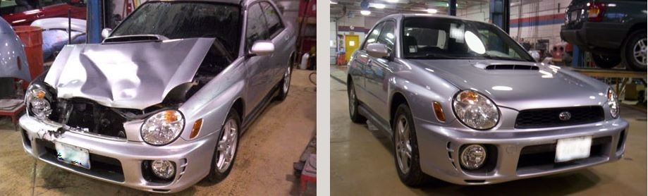 We are proud to show examples of our repairs, here at Carstar Blackhills Auto Body.