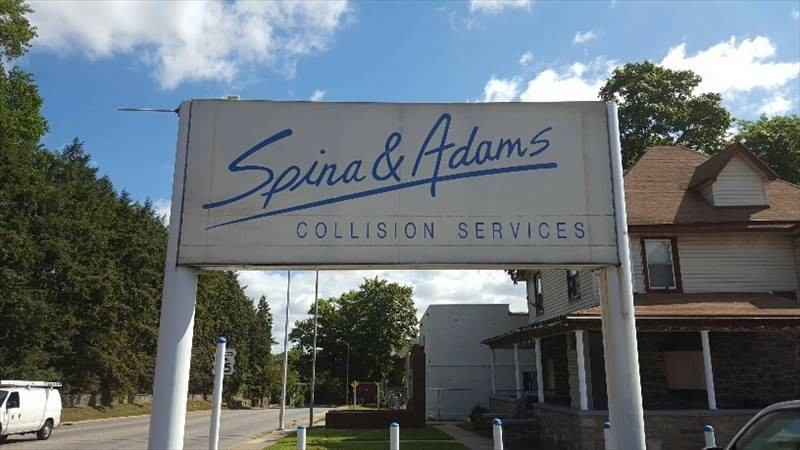 We are Spina & Adams Collision Services! With our specialty trained technicians, we will bring your car back to its pre-accident condition!