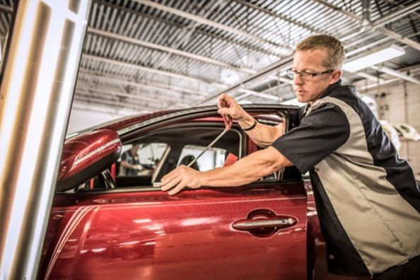 Painting technicians are trained and skilled artists.  at Service King Loves Park, We have the best in the industry. for high quality collision repair refinishing, look no farther than, Loves Park, IL, 61111.