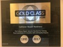 At Mastercraft Auto Body Of Manassas are proud to display our I-CAR plaque showing the years of dedication to training.