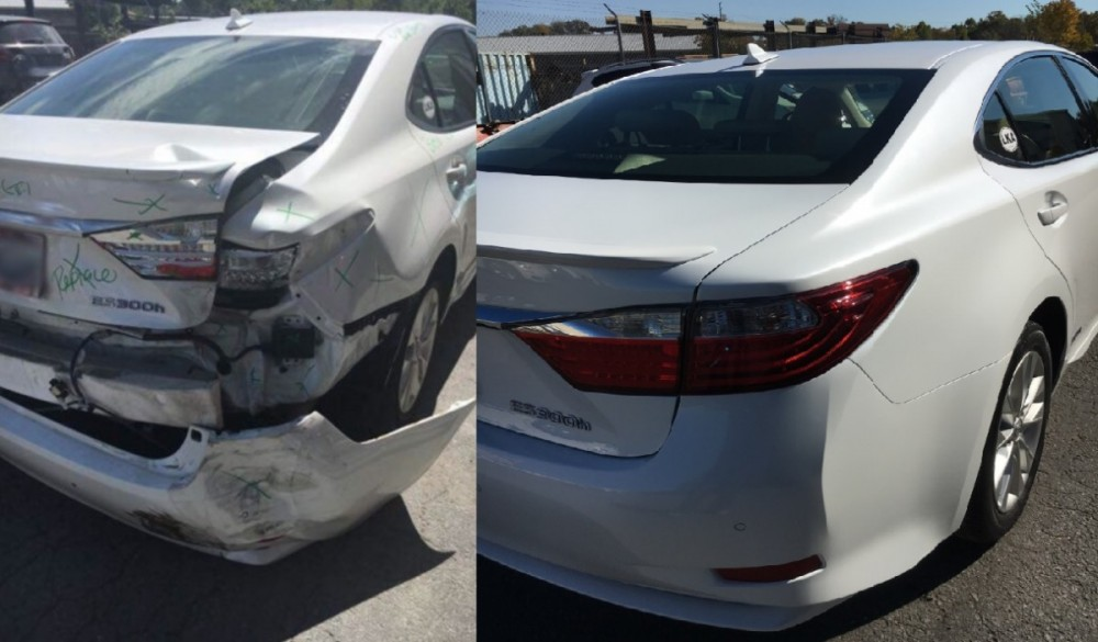At Mastercraft Auto Body Of Manassas, we are proud to post before and after collision repair photos for our guests to view.
