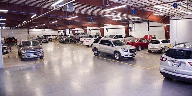 We are a state of the art Collision Repair Facility waiting to serve you, located at Longview, TX, 75605.