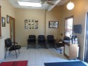 The waiting area at our body shop, located at Louisville, KY, 40207 is a comfortable and inviting place for our guests.