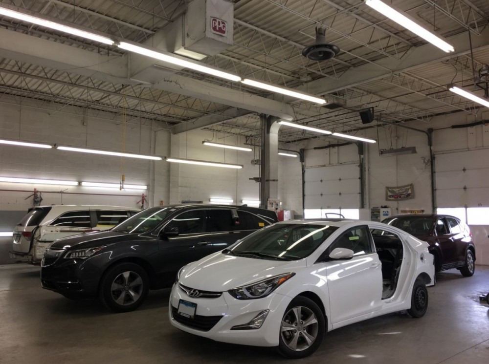 Friendly faces and experienced staff members at Buerkle Body Shop, in Saint Paul, MN, 55110, are always here to assist you with your collision repair needs.