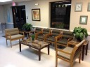 The waiting area at our body shop, located at Springfield, VA, 22150 is a comfortable and inviting place for our guests.