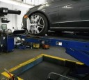 Accurate alignments are the conclusion to a safe and high quality repair done at Compact Kars, Inc., Millstone Township, NJ, 08510
