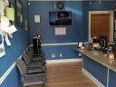 The waiting area at our body shop, located at Delray Beach, FL, 33444 is a comfortable and inviting place for our guests.