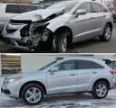 Our shop at Nanuet Collision Centers, we have photos for our customers to see our before and after repair to enjoy.