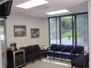 The waiting area at our body shop, located at Rockaway, NJ, 07866 is a comfortable and inviting place for our guests.