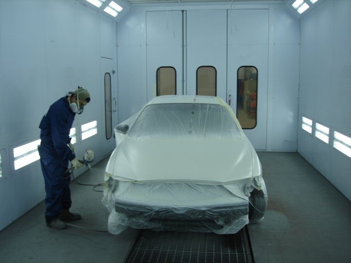 A professional refinished collision repair requires a professional spray booth like what we have here at Ellis County Auto Repair in Waxahachie, TX, 75165.