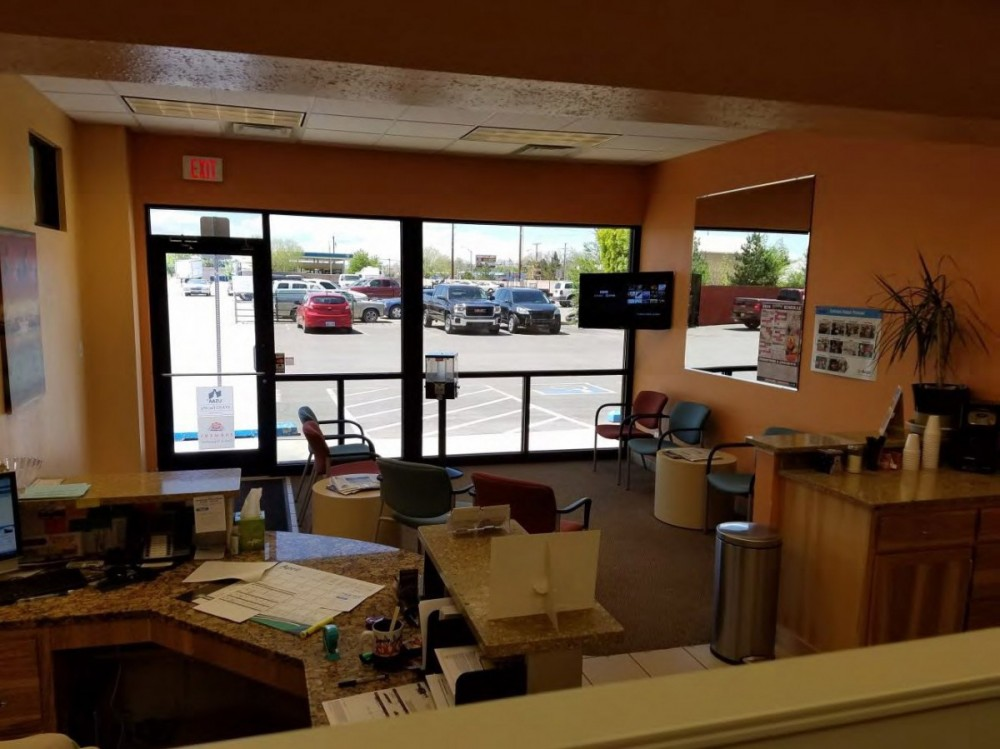 Here at Danlar Group, Albuquerque, NM, 87102, we have a welcoming waiting room.