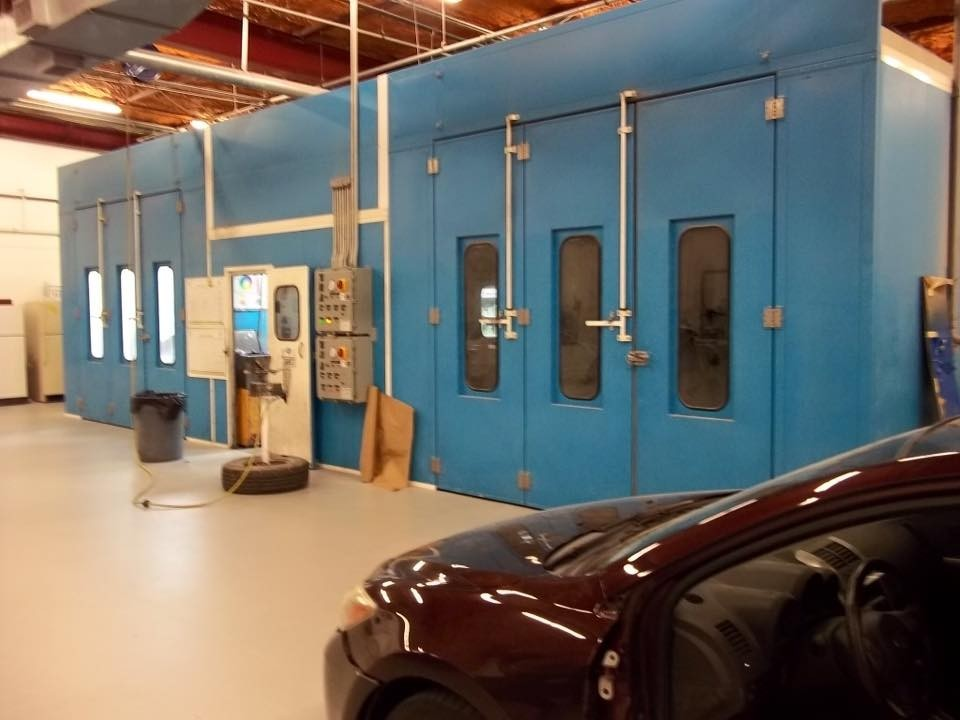 A professional refinished collision repair requires a professional spray booth like what we have here at Emerald Coast Collision Repair in Fort Walton Beach, FL, 32548.