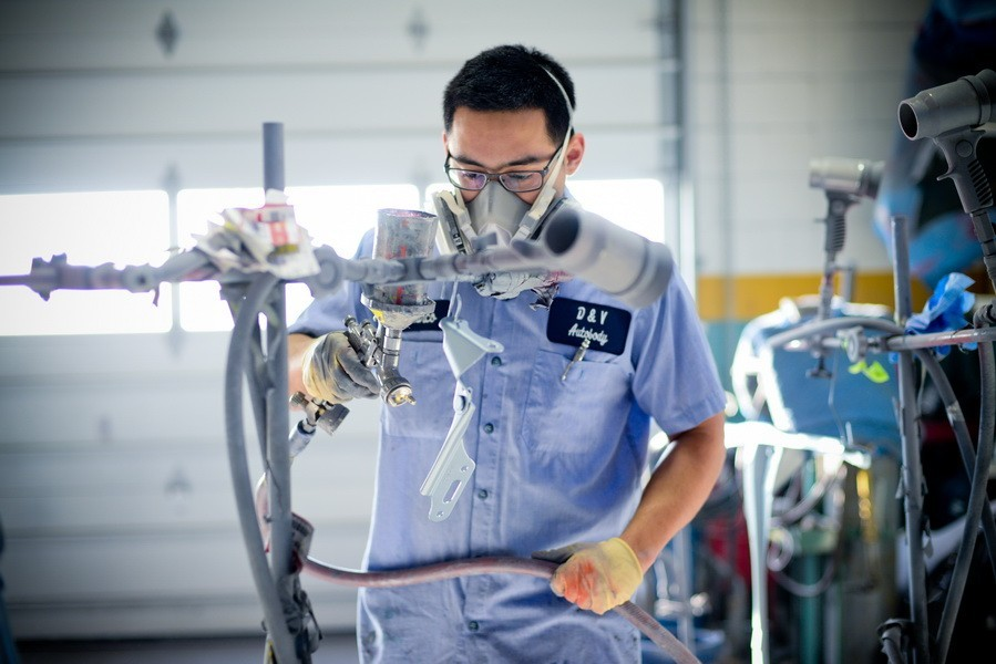 All of our body technicians at D&V Autobody, Sterling, VA, 20166, are skilled and certified welders.